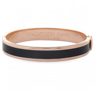 HALCYON DAYS BLACK & ROSE GOLD