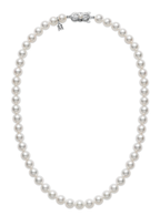 "Mikimoto 16"" Strand Necklace - White Gold Clasp"