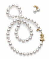 Mikimoto Akoya Special Edition Set  - Yellow Gold