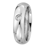 Scott Kay Prime Diamond Wedding Band Single Diamond
