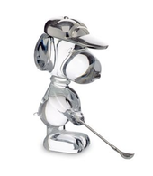 BACCARAT CARTOON GOLFING SNOOPY