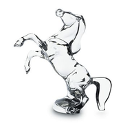 BACCARAT CHEVAL REARING HORSE