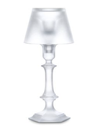 BACCARAT HARCOURT OUR FIRE CANDLESTICK WHITE SANDED