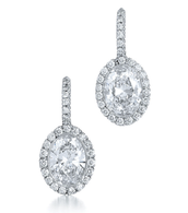 Kwiat The Silhouette Drop Earrings, 15761-40