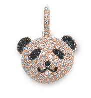 Aaron Basha 18K Rose Gold Panda Face (Large)