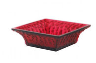 Lalique Red Roses bowl