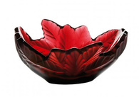 Lalique Red Compiegne Bowl