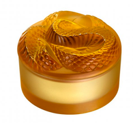 Lalique Snake box