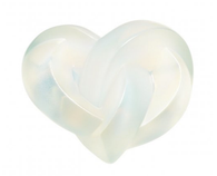 Lalique Hearts Sculpture