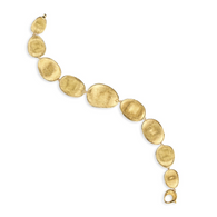 Marco Bicego Lunaria Bracelet in 18k Yellow Gold  The perfect addition to any outfit, or the perfect gift for any woman you're dying to dazzle.