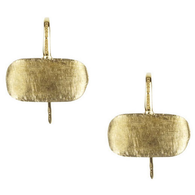 Marc Bicego Earrings Murano French Hook Horizontal 18kt Gold