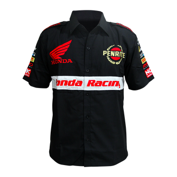 PENRITE FACTORY HONDA RACING TEAM PIT SHIRT