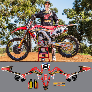 PENRITE HONDA FACTORY CRF450 STICKER KIT