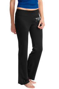 PRIMA DANCE LADIES NRG BLACK FITNESS PANT