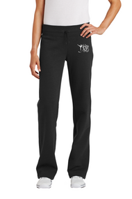 PRIMA DANCE BLACK FLEECE PANT