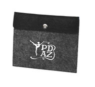 PRIMA DANCE BLACK/CHARCOAL FELT TABLET SLEEVE
