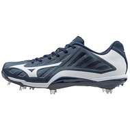 ATTACK MIZUNO HEIST IQ LOW CLEATS IN NAVY/WHITE