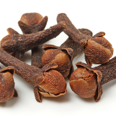 Clove Flavor water soluble ** new- we have made this one stronger, by customer request. made from natural eugenol, the main constituent of cloves. This flavor is actually just natural eugenol at 20% Ingredients:Natural Flavor, Propylene Glycol