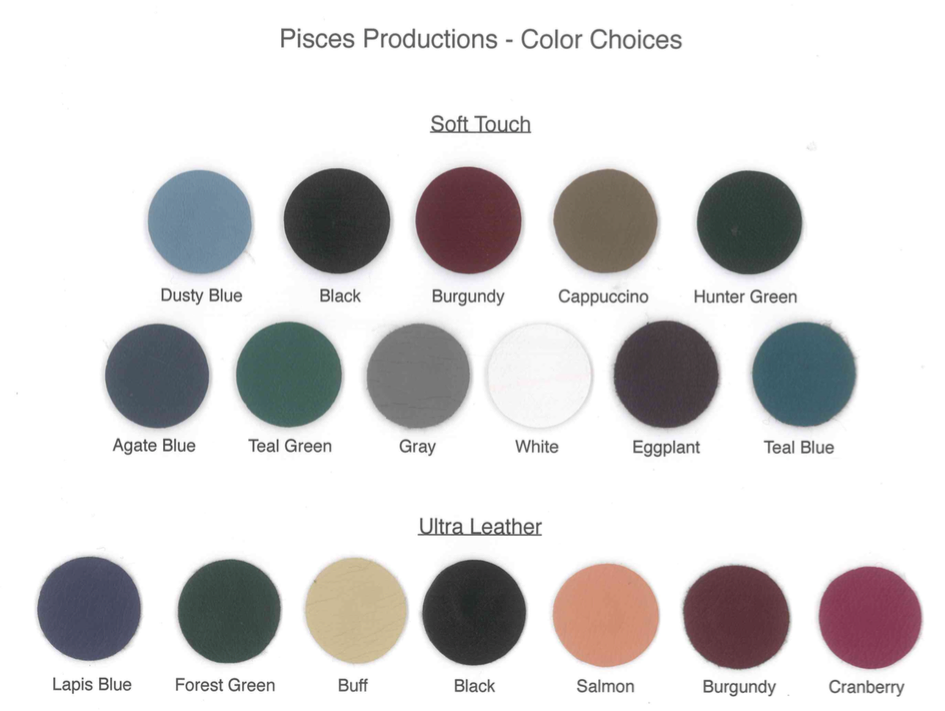 Choice of colors from Pisces