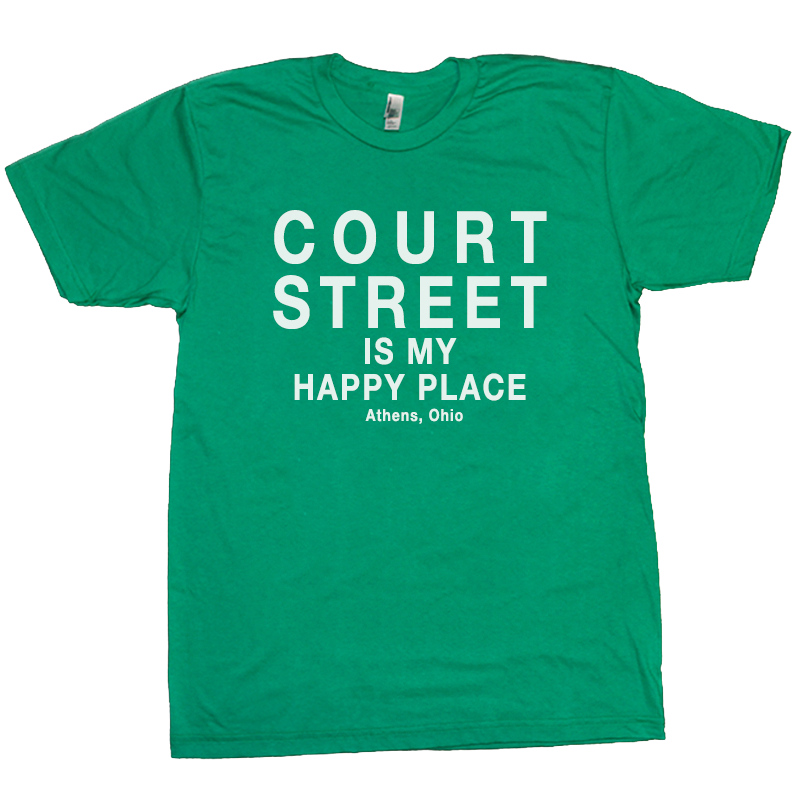 Court Street Athens Ohio T-Shirt