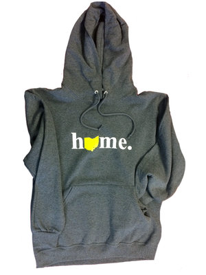 Ohio Home Hooded Sweatshirt - Precision Imprint