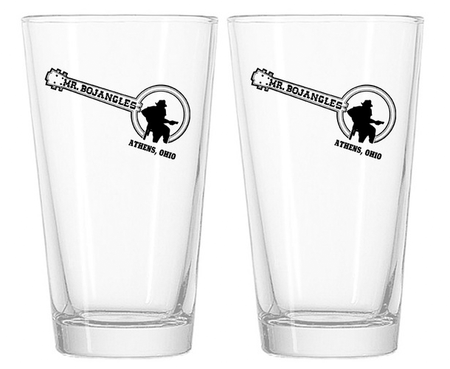 Mr. BoJangles Pint Glasses
