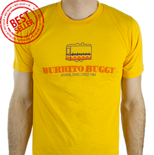 Yellow Burrito Buggy T-Shirt, Best Seller!