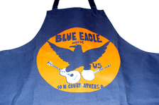 Blue Eagle Music Apron Detail