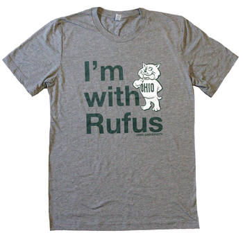 I'm With Rufus Ohio University T-Shirt