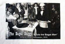 The Bagel Buggy T-Shirt, Athens, Ohio detail