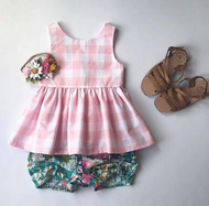 Gingham Garden Set SOLD OUT