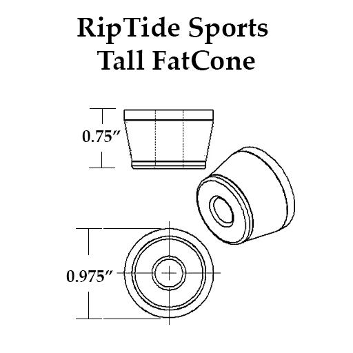 WFB TallFatCone Bushings 83a l RipTide Sports
