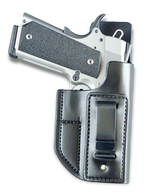 Tuckable IWB with Steel Clip and Body Shield - J221T