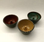 """Ring keepers are 3"""" and available in any glaze."""