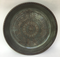 """Platter is 12"""" and shown here in Iron Lustre inside with Turtle Shell outside and is available in any glaze."""
