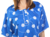 This hospital gown is also perfect for use as maternity pajamas, with three buttons at the top middle of the gown to provide access and comfort for you and baby.