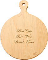 "16""Round Artisan Cutting Board from Maple Leaf at Home"