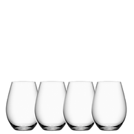 MORE Stemless Wine Glass - Set of 4