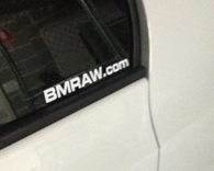 BMRAW.com sticker