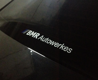 BMR Autowerkes decal (mini)