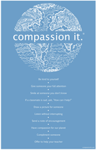 """How to Compassion It"" Classroom Poster"