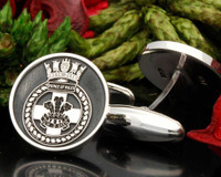 HMS Prince of Wales Engraved Cufflinks