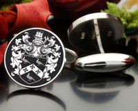 Tompkins Family Crest Cufflinks ( Graphic image for design )