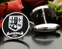 Australian Coat of Arms - Graphic for Cufflinks - Negative Engraved