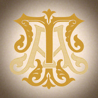 Victorian Monogram AT TA D1 - hand drawn design, graphic design only - download