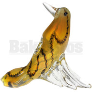 "ANIMAL HAND PIPE BIRD DESCENDING 5"" ASSORTED COLORS"