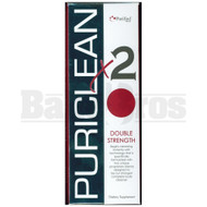 PURIFIED PURICLEAN X2 DOUBLE STRENGTH DETOX UNFLAVORED 32  FL OZ, 4 CAPSULES