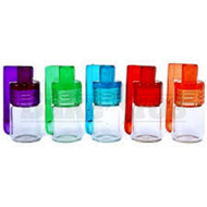 ACRYLIC AND GLASS SCOOP BULLET SHORT ASSORTED COLORS Pack of 1