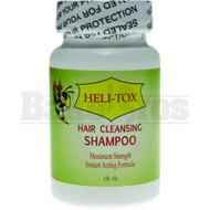 HELI-TOX HAIR CLEANSING DETOX SHAMPOO UNFLAVORED 2 FL OZ