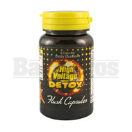 HIGH VOLTAGE DETOX  FAST FLUSH UNFLAVORED 6 CAPSULES